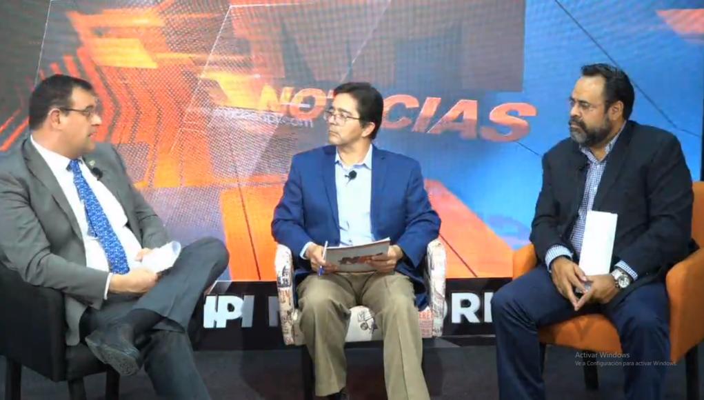Programa especial con el C.P.C. Rafael Lamadrid Berrueta, Presidente del CCE Irapuato y el Ing. César Raymundo Gómez García, Presidente del CCE Salamanca.