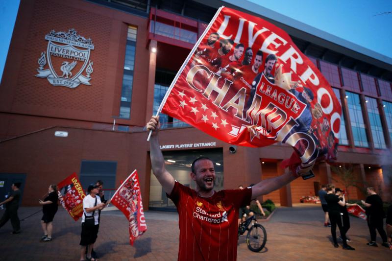 Liverpool es Campeón de la Premier League; su título 19 y primero en 30 años