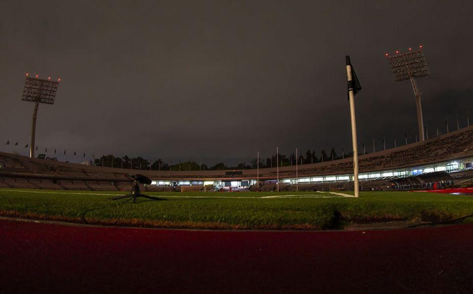 ¡Se fue la luz en Ciudad Universitaria en el América vs Toluca!